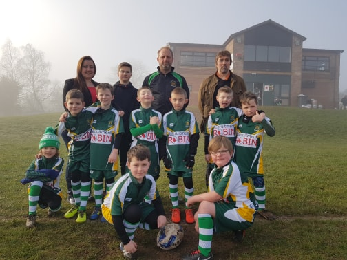 Trentham rugby under 8s